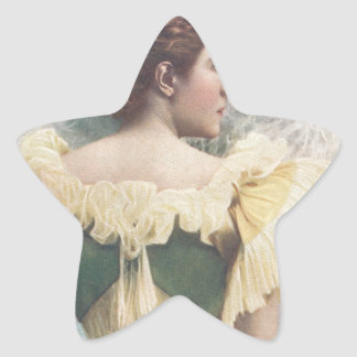 La princesa Of The Asturias Pegatina En Forma De Estrella