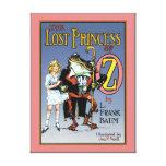 La princesa perdida de Oz, ejemplo de libro 1900 Lona Envuelta Para Galerías