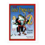 La princesa perdida Of Oz Tarjetas Postales
