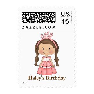 La princesa personalizada sella cumpleaños