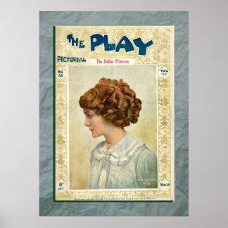 La princesa Print del dólar Posters