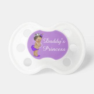 La princesa Purple del papá étnico Chupetes De Bebe