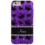 La princesa púrpura del brillo del añil conocido funda de iPhone 6 plus tough