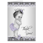 La princesa púrpura fiesta de bienvenida al bebé l felicitación