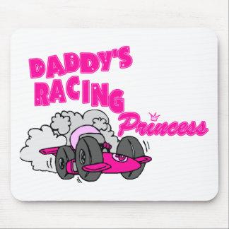 La princesa que compite con del papá mouse pads
