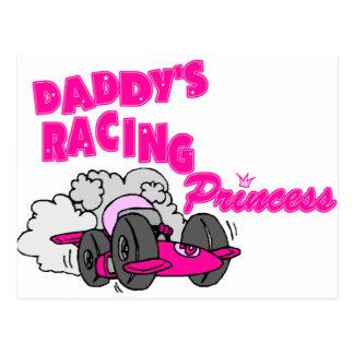 La princesa que compite con del papá tarjetas postales