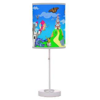 La princesa Story Lamp del cuento de hadas Lámpara De Mesilla De Noche