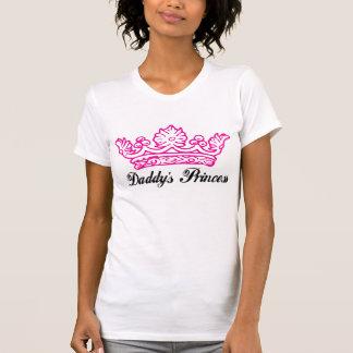 La princesa Tee del papá Camisas