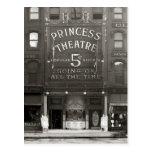 La princesa Theatre, 1910 Postales