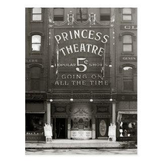 La princesa Theatre, 1910 Postal