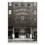 La princesa Theatre, 1910 Tarjetón