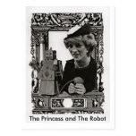 La princesa y el robot, postal