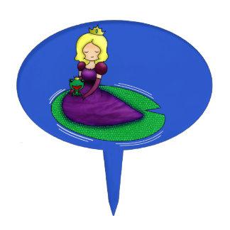 ¿La princesa y la datación de la rana? Figura De Tarta