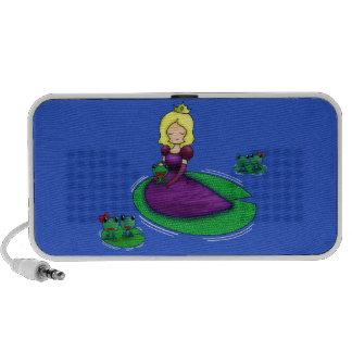 ¿La princesa y la datación de la rana? PC Altavoces