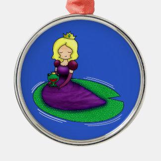 ¿La princesa y la datación de la rana? Ornamento De Reyes Magos
