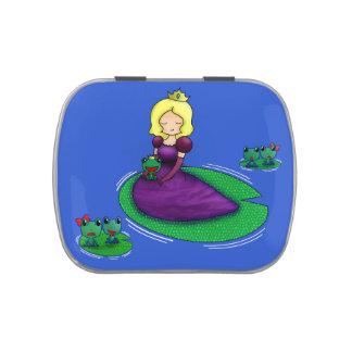 ¿La princesa y la datación de la rana? Frascos De Dulces