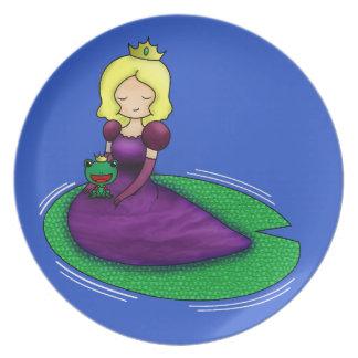 ¿La princesa y la datación de la rana? Platos De Comidas