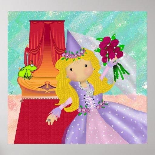 La princesa y la rana póster