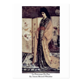 La Princesse Du Pay By James Mcneill Whistler Post Cards