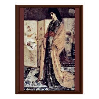 La Princesse Du Pay De La Porcelaine By Whistler J Postcards