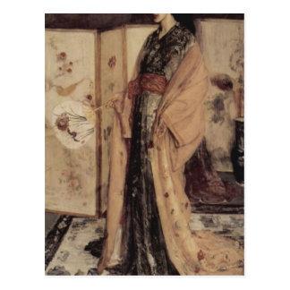 La Princesse you Pay de la Porcelaine by Whistler Postcard