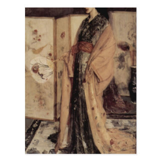 La Princesse you Pay de la Porcelaine by Whistler Postcard