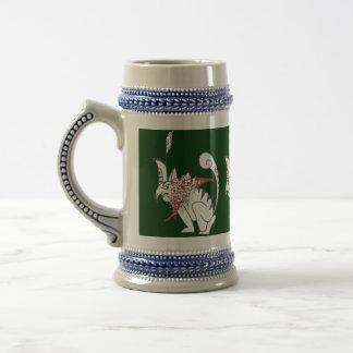 La principal taza de Stein del tigre