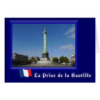 La Prise de la Bastille Greeting Card