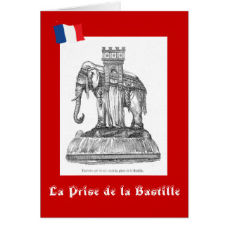 La Prise de la Bastille Greeting Cards