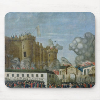 La prisión del Bastille, el 14 de julio de 1789 Alfombrilla De Raton