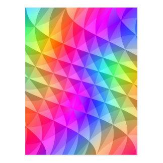 la prisma ajusta el modelo tarjeta postal