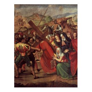 La procesión al Calvary, c.1505 Postales