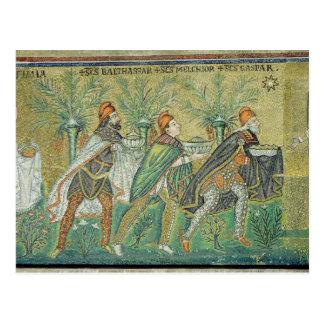 La procesión de los tres reyes postales