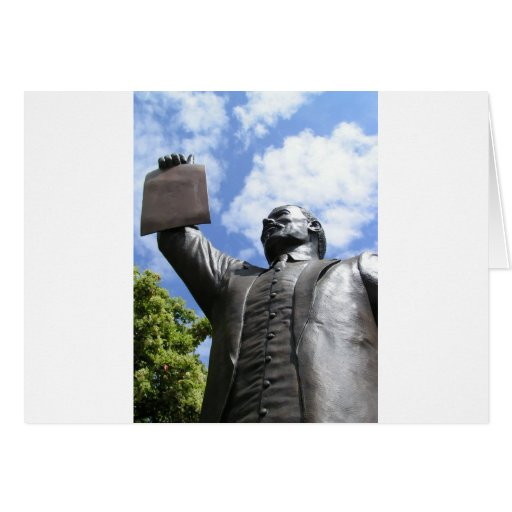 La proclamación de la emancipación tarjeta de felicitación