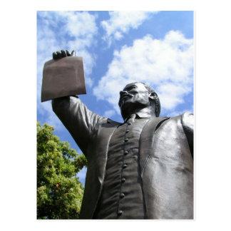 La proclamación de la emancipación tarjetas postales
