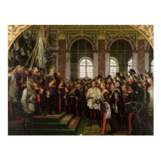 La proclamación de Wilhelm Tarjetas Postales