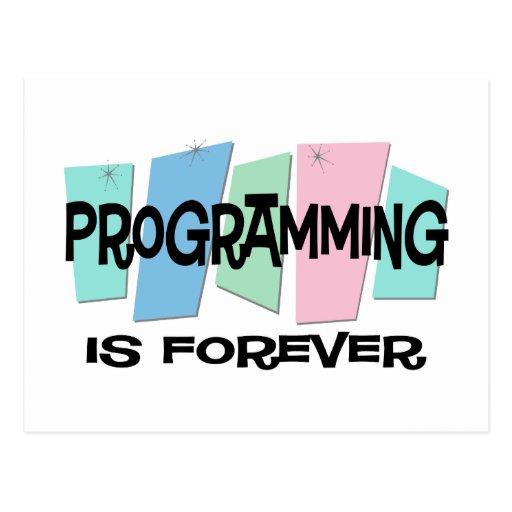 La programación es Forever Postal