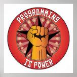 La programación es poder posters