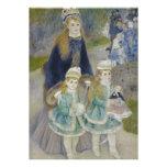La Promenade by Pierre-Auguste Renoir Custom Announcement