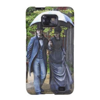 """La Promenade"" by Seward Johnson Samsung Galaxy S2 Covers"