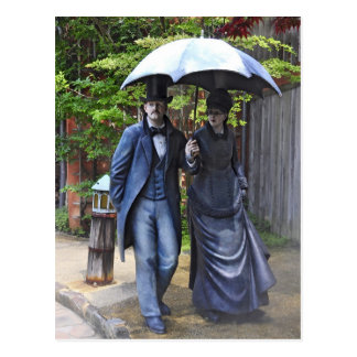 """La Promenade"" by Seward Johnson Postcard"