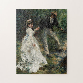 La Promenade Renoir Painting Fine Art Puzzle