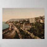 "La ""promenade"", Sanremo, Liguria, Italia Impresiones"