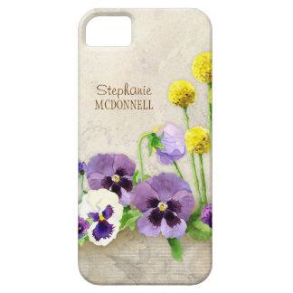 La promesa de la primavera - acuarela moderna funda para iPhone SE/5/5s