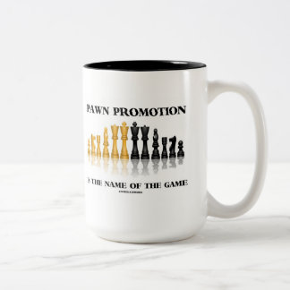La promoción del empeño es el nombre de The Game Taza