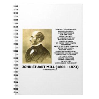 La prosecución de la libertad de John Stuart Mill Libros De Apuntes