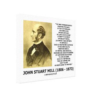 La prosecución de la libertad de John Stuart Mill Lona Estirada Galerías
