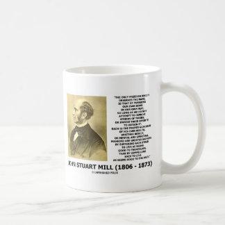 La prosecución de la libertad de John Stuart Mill  Tazas De Café