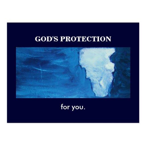LA PROTECCIÓN DE DIOS POSTALES