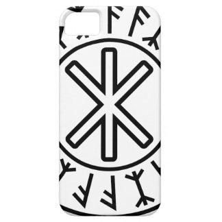 La protección No 2 negro de Odin iPhone 5 Carcasa